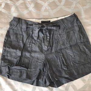 Banana Republic grey shorts with bow size 6